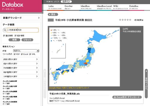 Databox 画面イメージ